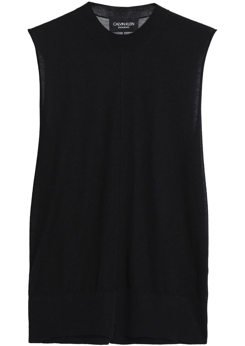 Calvin Klein 205w39nyc Woman Cashmere Top Black