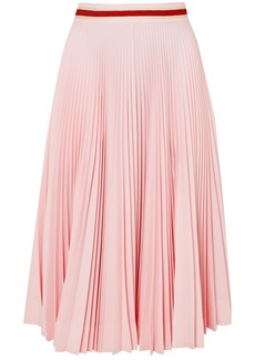 Calvin Klein 205w39nyc Woman Pleated Twill Skirt Baby Pink