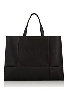 CALVIN KLEIN 205W39NYC Women's Amazon East West Leather Tote Bag - Black
