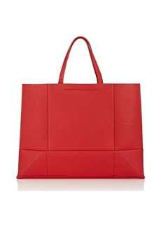 CALVIN KLEIN 205W39NYC Women's Amazon East West Leather Tote Bag - Red