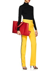 f22e9dcbb4 ... CALVIN KLEIN 205W39NYC Women's Amazon East West Leather Tote Bag - Red