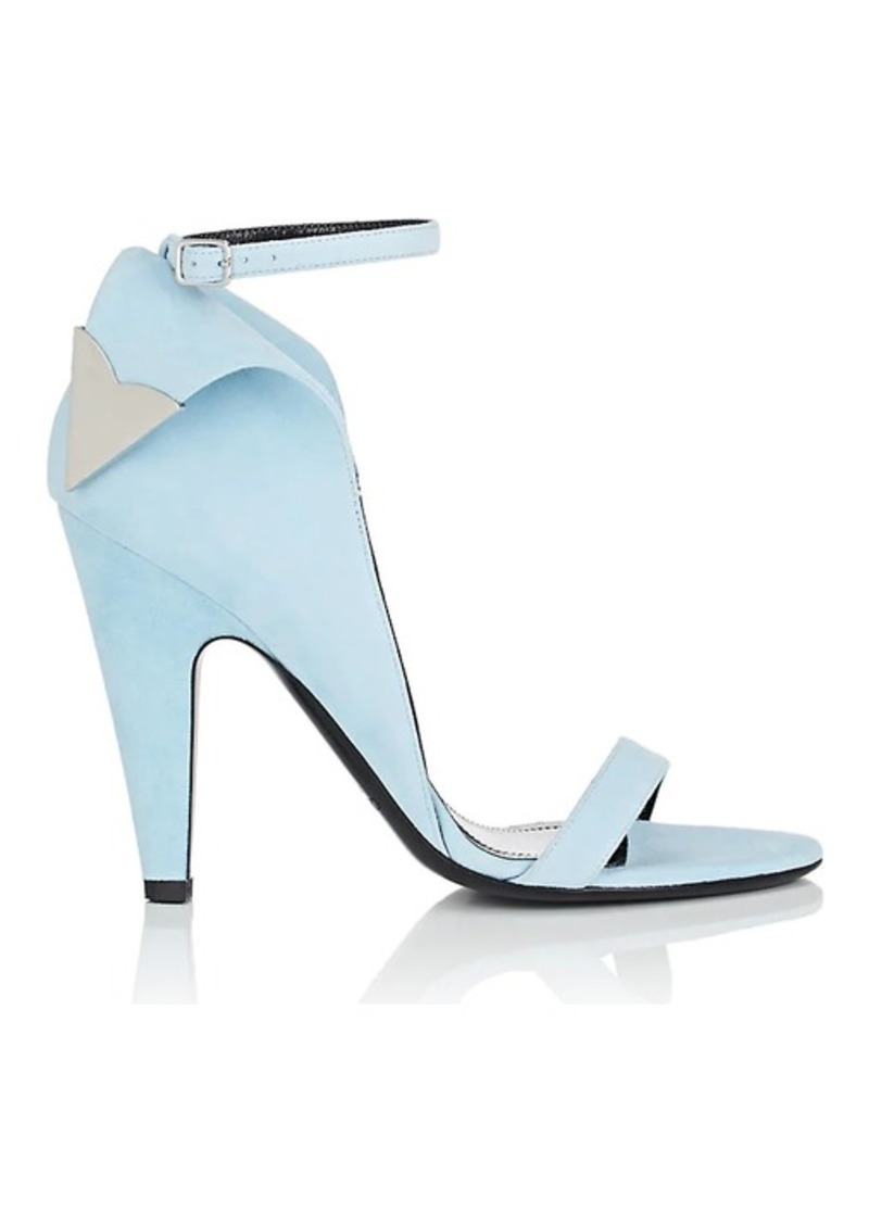 CALVIN KLEIN 205W39NYC Women's Leititia Suede Sandals