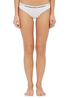 CALVIN KLEIN 205W39NYC Women's Logo Cotton-Blend Bikini Briefs