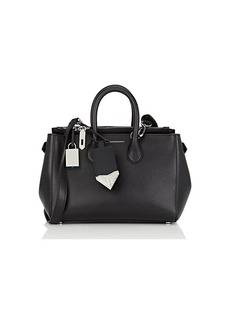 CALVIN KLEIN 205W39NYC Women's Small Leather Tote Bag - Black