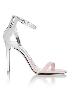 CALVIN KLEIN 205W39NYC Women's Specchio Leather Ankle-Strap Sandals