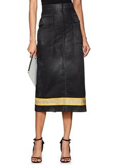 CALVIN KLEIN 205W39NYC Women's Twill Cargo Skirt