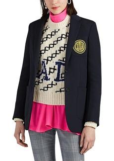 CALVIN KLEIN 205W39NYC Women's Wool Twill Two-Button Blazer