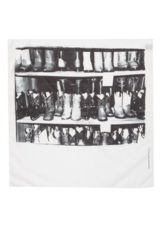 CALVIN KLEIN 205W39NYC x Andy Warhol Foundation Boots Scarf