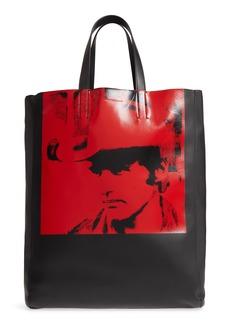 CALVIN KLEIN 205W39NYC x Andy Warhol Foundation Dennis Hopper Calfskin Leather Bucket Bag