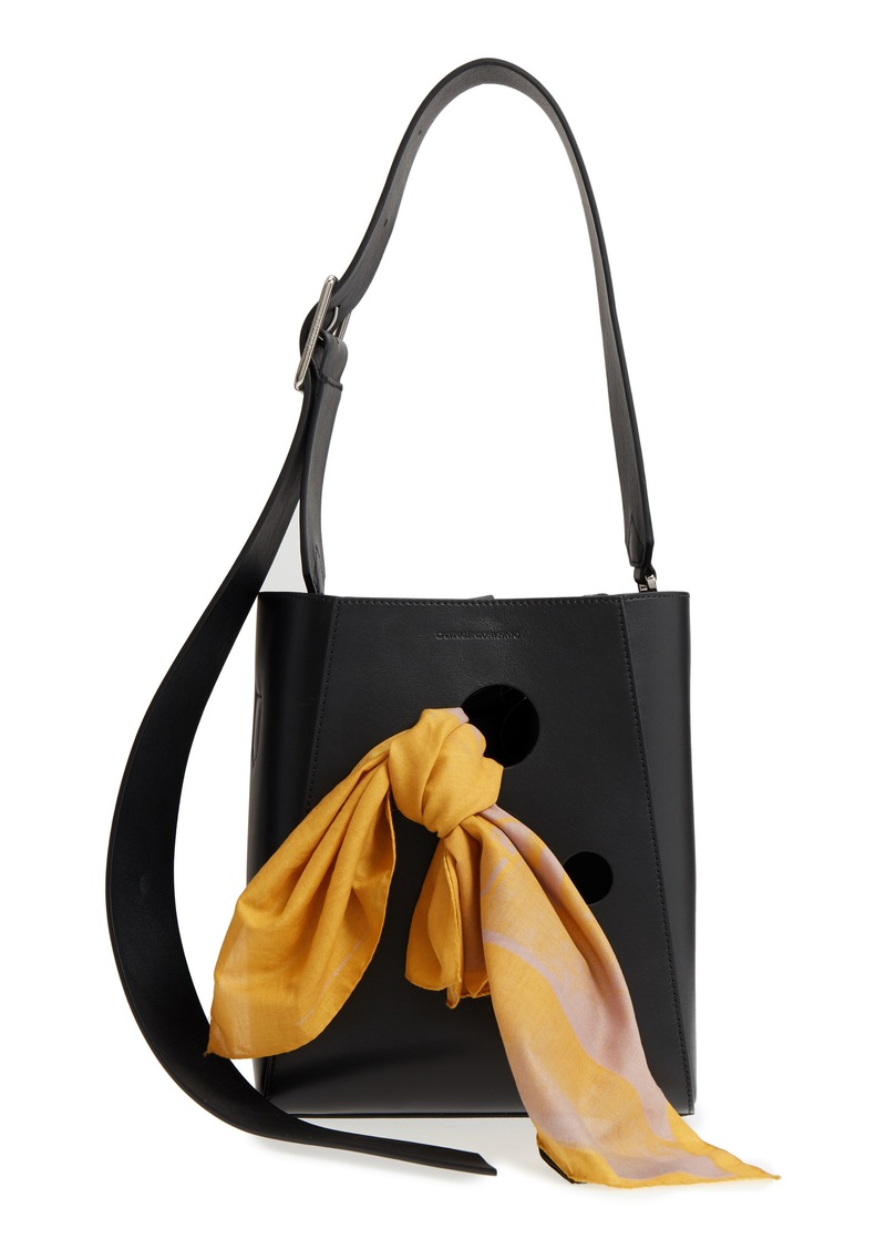 Calvin Klein 205w39nyc X Andy Warhol Foundation Small Bucket Bag With Bandana Removable Pouch