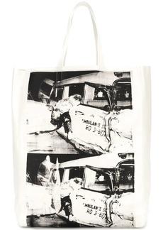 Calvin Klein 205W39NYC x Andy Warhol printed tote bag