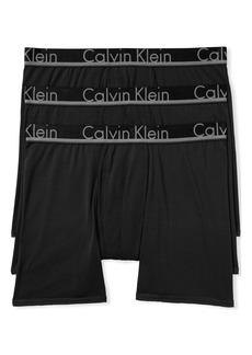 Calvin Klein 3-Pack Comfort Microfiber Boxer Briefs