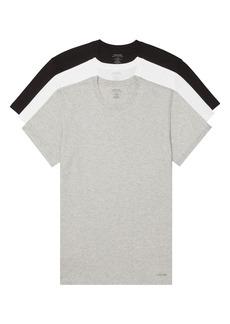 Calvin Klein 3-Pack Cotton Crewneck T-Shirt