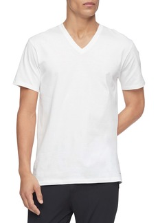 Calvin Klein 3-Pack Cotton V-Neck T-Shirt