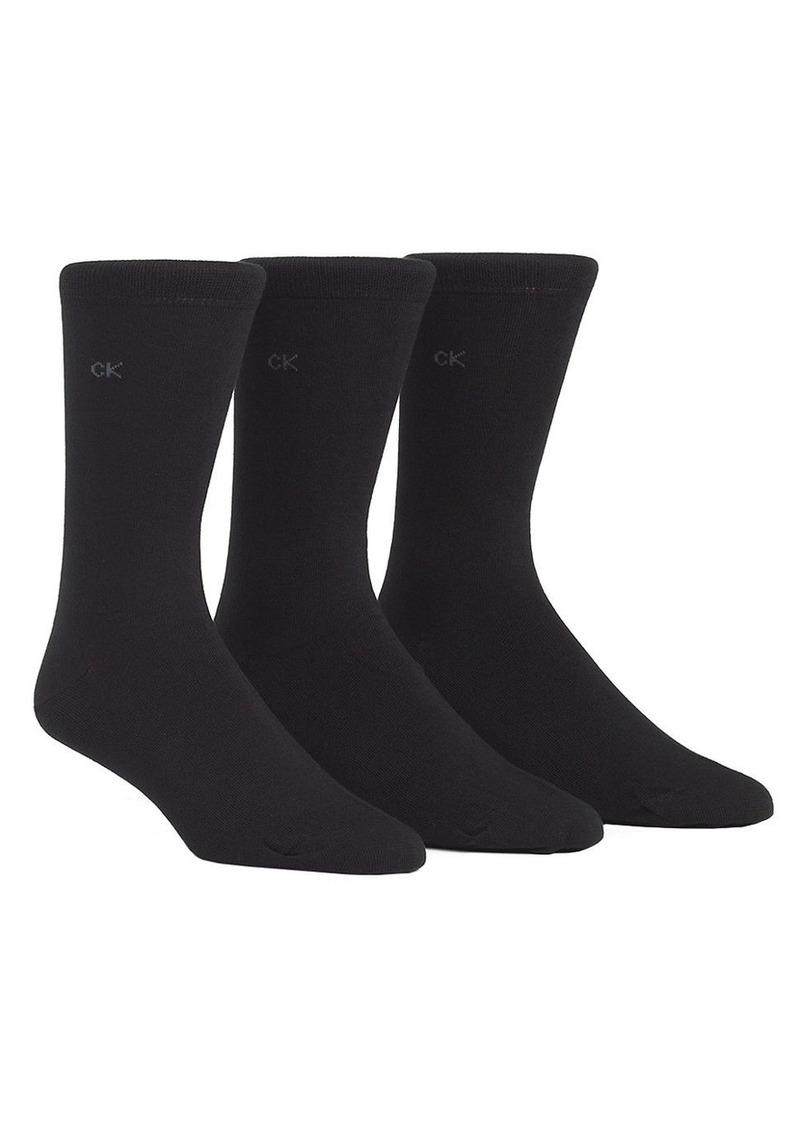 CALVIN KLEIN 3-Pack Knit Socks
