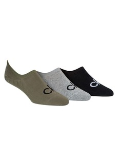 Calvin Klein 3-Pack Logo Liner Socks