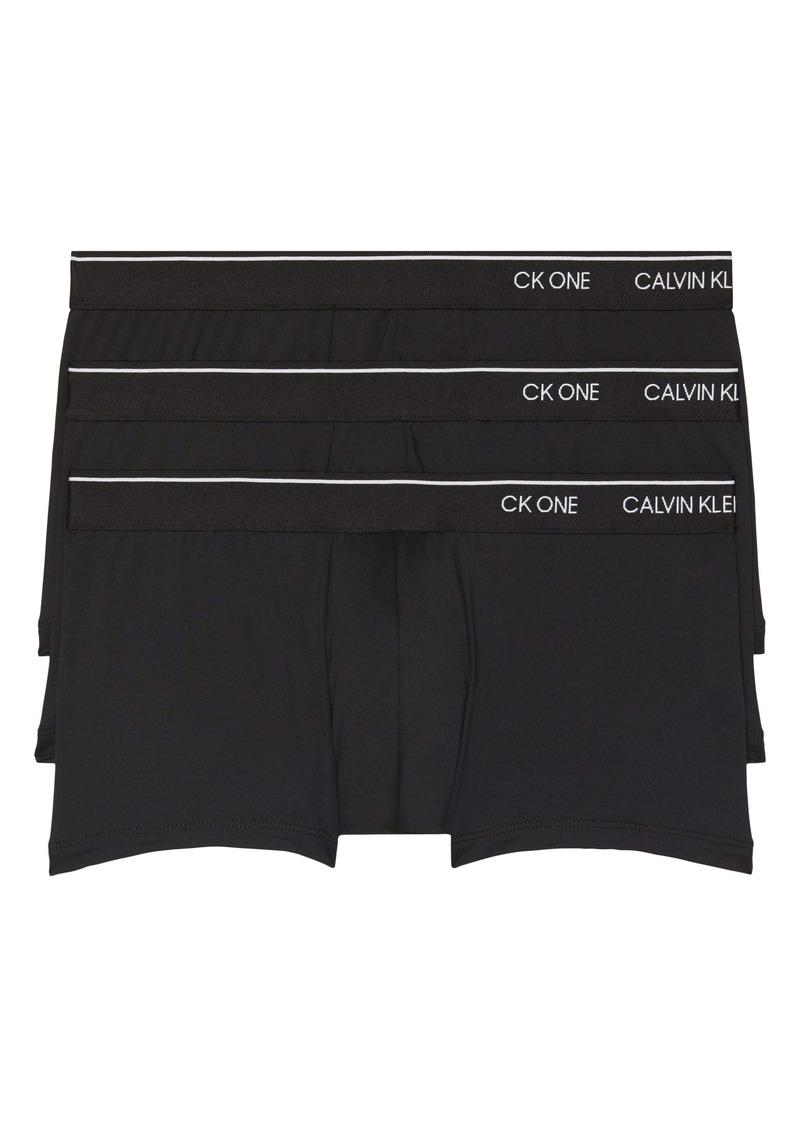 Calvin Klein 3-Pack Low Rise Trunks