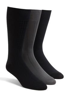 Calvin Klein 3-Pack Microfiber Socks