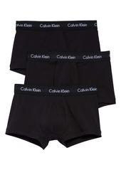 Calvin Klein 3-Pack Moisture Wicking Trunks