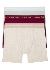 Calvin Klein 3-Pack Stretch Cotton Boxer Briefs