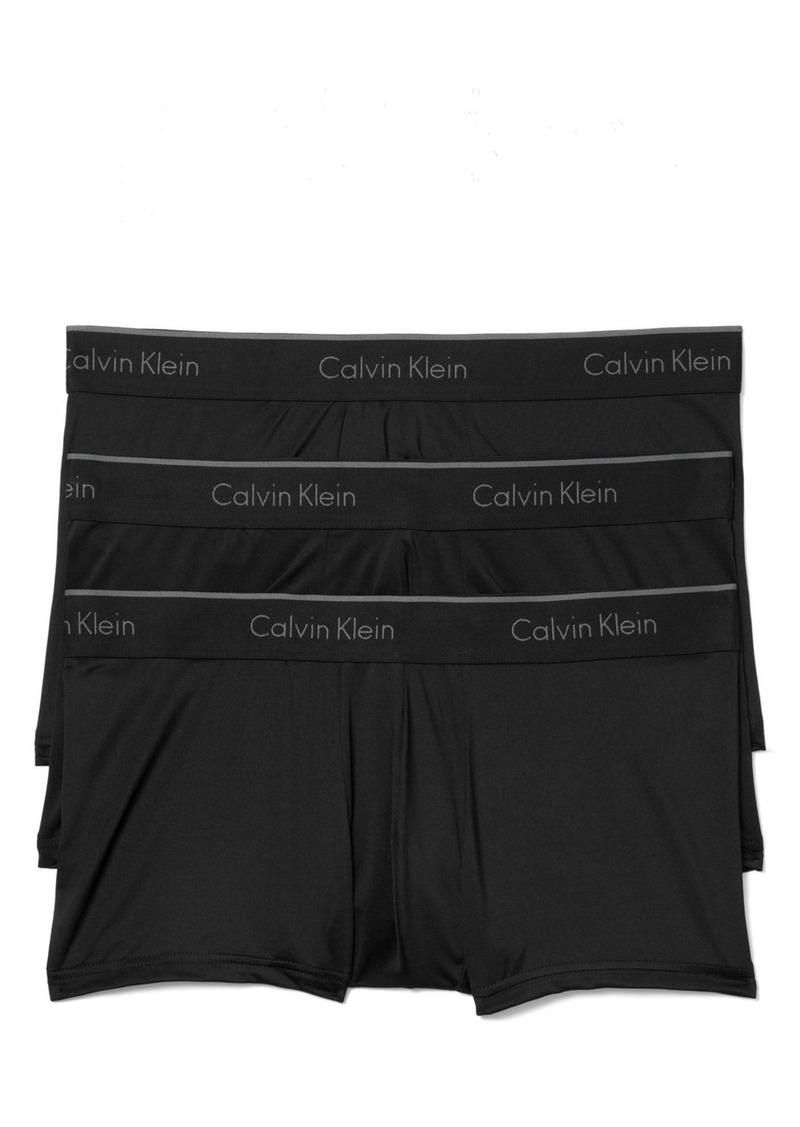 Calvin Klein 3-Pack Micro Stretch Trunks