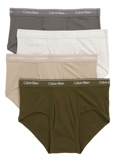 Calvin Klein 4-Pack Cotton Briefs