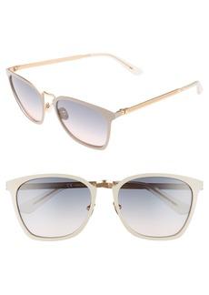 CALVIN KLEIN 54mm Square Sunglasses