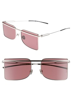CALVIN KLEIN 205W39NYC 56mm Butterfly Sunglasses