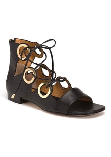 "Calvin Klein ""Abriana"" Lace Up Dress Sandals"