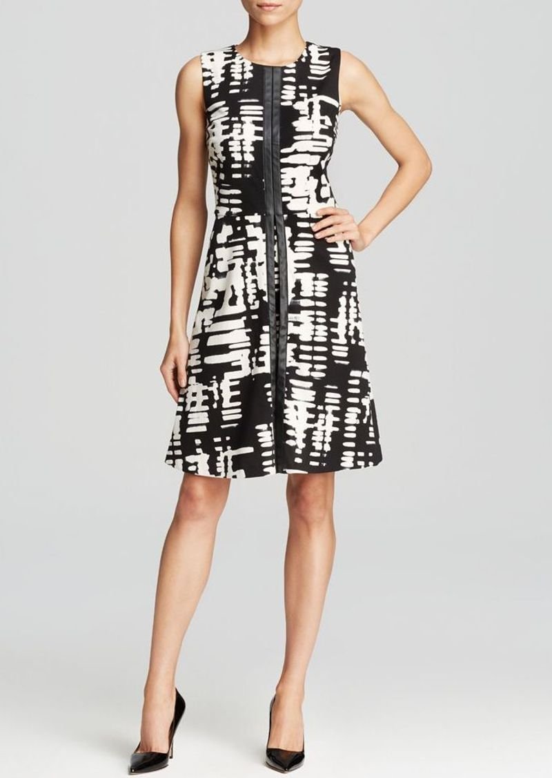 Calvin Klein Abstract Print Dress