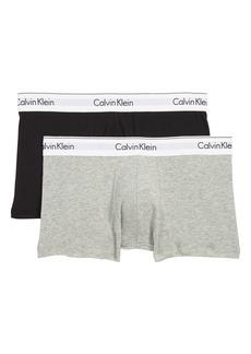 Calvin Klein Assorted 2-Pack Stretch Cotton Trunks