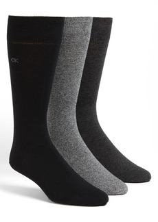 Calvin Klein Assorted 3-Pack Socks
