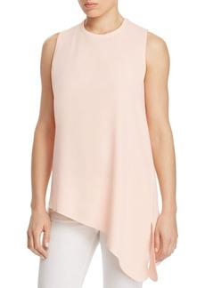 Calvin Klein Asymmetric Sleeveless Top