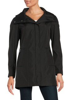 CALVIN KLEIN Asymmetric Zip-Up Jacket