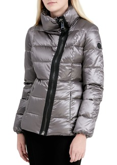 Calvin Klein Asymmetrical Zip Down Jacket