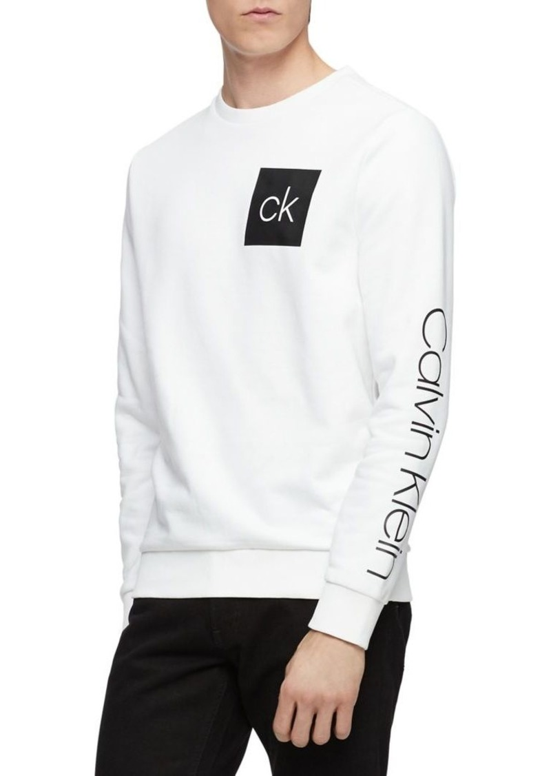 Calvin Klein Athleisure Cotton-Blend Sweatshirt