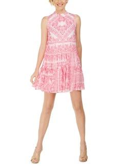 Calvin Klein Bandana-Print Swing Dress