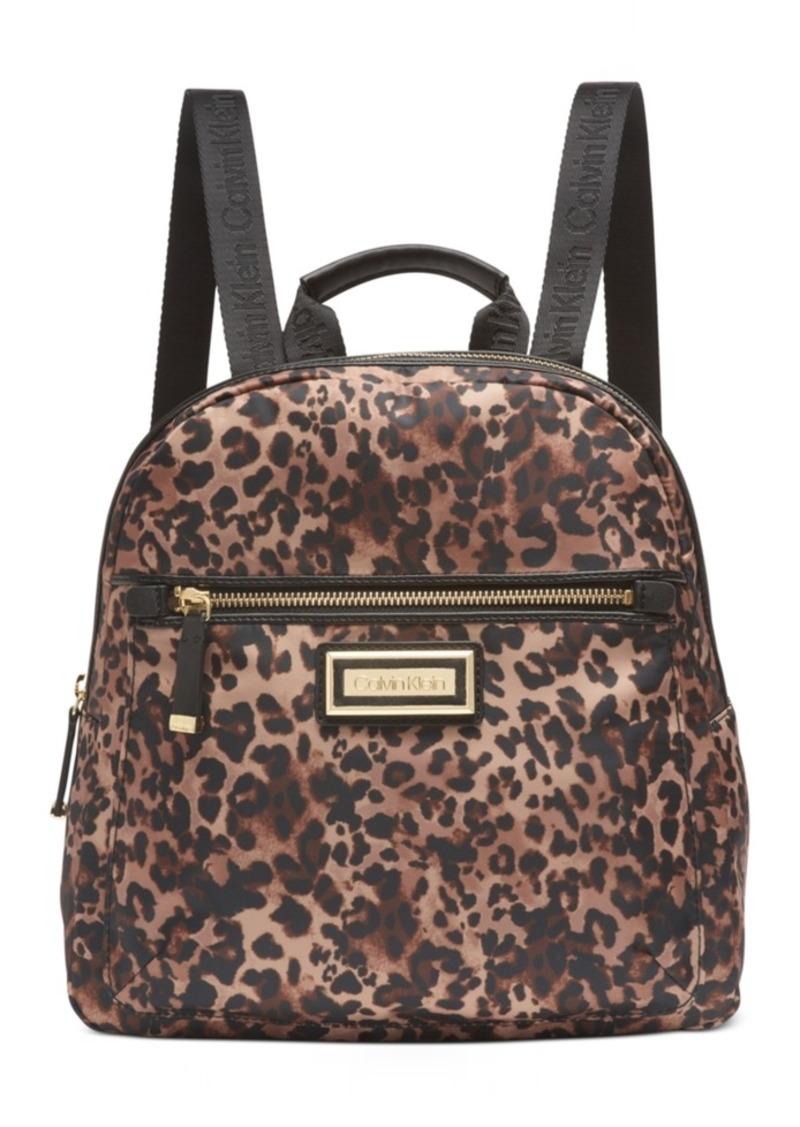 Calvin Klein Belfast Leopard Backpack