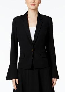 Calvin Klein Bell-Sleeve Blazer