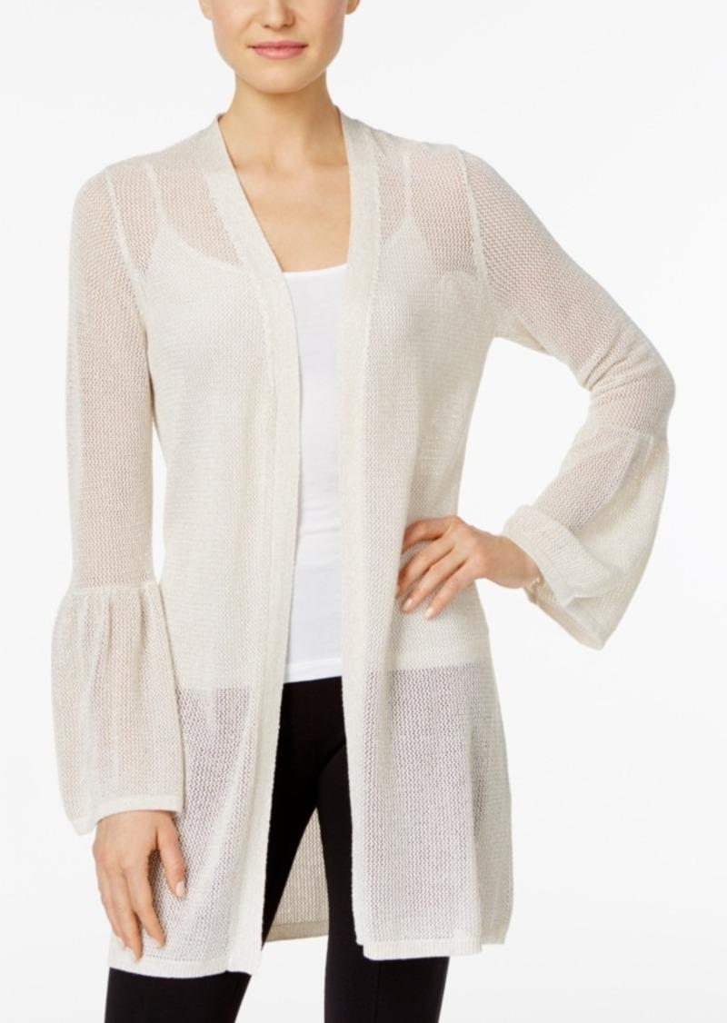Calvin Klein Calvin Klein Bell Sleeve Cardigan Sweaters