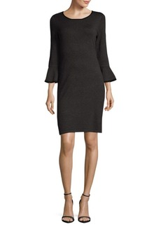 Calvin Klein Bell-Sleeve Dress