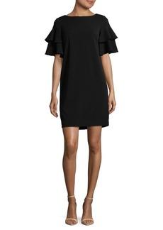 Calvin Klein Bell-Sleeve Shift Dress