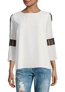 Calvin Klein Bell Sleeve Soft Top