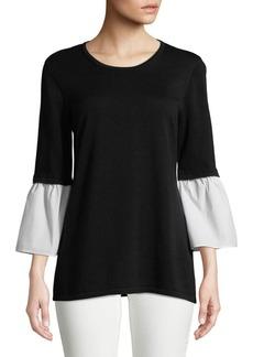 Calvin Klein Bell-Sleeve Top