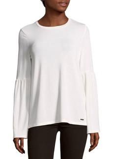 Calvin Klein Bell Sleeve Top