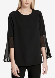 Calvin Klein Bell-Sleeve Tunic