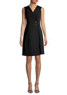 Calvin Klein Belted Coat Dress