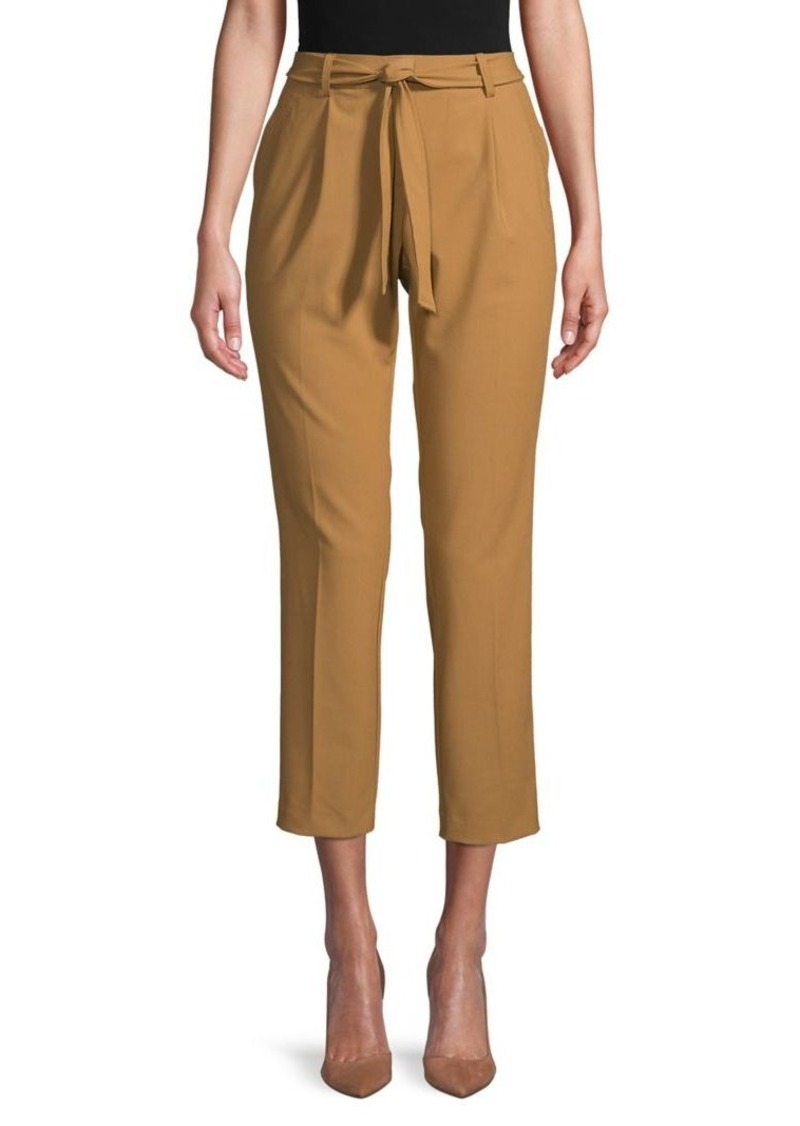 Calvin Klein Belted Cropped Pants