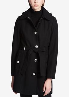 Calvin Klein Belted Hardware Walker Coat