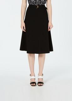 Calvin Klein Belted Midi Skirt